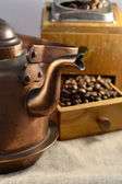 Making good coffee — Stock Photo