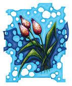 Tyulpany in spring. — Stock Photo