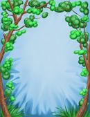 Decorative trees. — Stock Photo