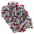 Interferon beta molecule - Foto Stock