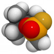 Soman (GD) molecule - Stock Photo