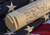 US Constitution document — Stock Photo