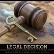 Stock Photo: Legal Decision