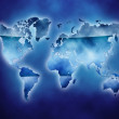 World map — Stock Photo #9225998