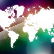 World map — Stock Photo #9226017