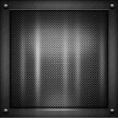 Black Metal Texture — Stock Photo