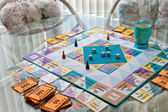 Afternoon Board Game — Stock Photo