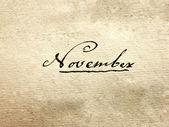 November — Stock Photo