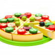 Toy pizza - Stock Photo