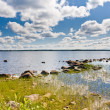 Lake in Finland — Stock Photo