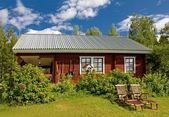Finnish Cottage — Stock Photo
