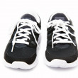 Sport shoes on white background — Stock Photo