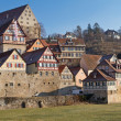 The small town of Schwaebisch Hall, Germany — Stock Photo