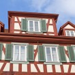 Historic half-timbered houses, Germany - Stock fotografie