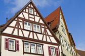 Historic half-timbered houses, Germany — Stock Photo