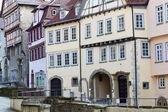 Casas residenciales históricas, alemania — Foto de Stock