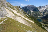 Hiking in the bavarian alps, Germany — Stok fotoğraf