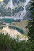 """View to the """"Soiern"""" lakes in the bavarian alps, Germany — Stock Photo"""