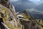Hiking in the bavarian alps, Germany — Stock Photo