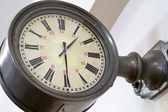 Old city (station) clock — Foto de Stock