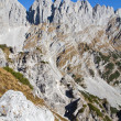 Hiking in the Austrian alps (Zahmer Kaiser Mountains) — Stock Photo #9172080