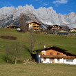 Village of Going in Austria - Stock fotografie