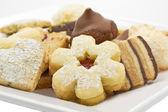 Selection of christmas cookies — Stock Photo