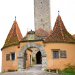 Medieval Tower in Rothenburg, Germany — Stock Photo #9188427