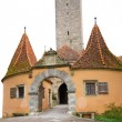 Medieval Tower in Rothenburg, Germany - Stock fotografie