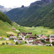 Mountain village in South Tyrol, Italy — Stock Photo #9188740
