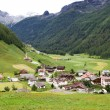 Mountain village in South Tyrol, Italy — Stock Photo
