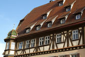 Medieval facade of Rothenburg, Germany — Stock Photo