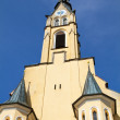 Historic church steeple in the town of Bad Toelz, Bavaria - Photo