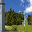 Cable car in South Tyrol, Italy — Stock Photo