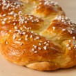 Sweet braided bread - Stock Photo