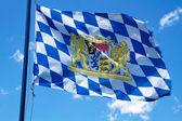 Bandiera bavarese in streaming — Foto Stock