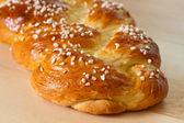 Zoet gevlochten brood — Stockfoto