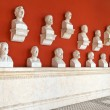 "Celebrities inside the temple ""Ruhmeshalle"" in Munich, Bavaria — Stock Photo"