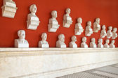 """Celebrities inside the temple """"Ruhmeshalle"""" in Munich, Bavaria — Stock Photo"""