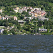 Residential houses at lake Como in Italy — Stock Photo #9214501