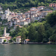 The picturesque village of Careno at lake Como, Italy — Стоковая фотография