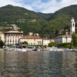 Stock Photo: Village of Cernobbio at Lake Como, Italy