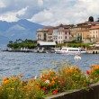 The small town of Belaggio at lake Como in Italy — Stock Photo #9216143