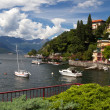 Stock Photo: Small town of Varennat lake Como in Italy