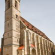 Ministry St. George in Dinkelsbuehl, Germany - Stockfoto