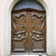Old door in a German village - Stock fotografie