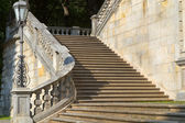 "Staircase at the historic ""Friedensengel"" in Munich, Germany — Foto de Stock"
