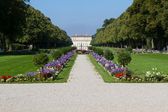 "Canal to the ""Oberschleissheim"" palace near Munich, Germany — Foto de Stock"