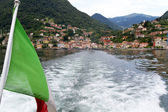 Menaggio village on the shore of lake Como, Italy — Stock Photo