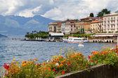 η μικρή πόλη της belaggio στη λίμνη como στην ιταλία — Φωτογραφία Αρχείου